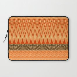 crochet mixed with lace in warm mood Laptop Sleeve