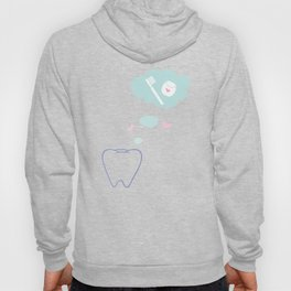 Tooth with Happy Thoughts Hoody