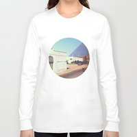 memphis Long Sleeve T-shirts featuring Memphis by lizzy gray kitchens
