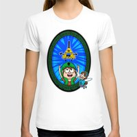 gravity falls T-shirts featuring Gravity Falls: Hyrule Falls by Macaluso