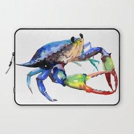 Crab, Sea World Rainbow Colors Beach Laptop Sleeve