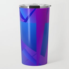 Rhapsody in Blue 5 Travel Mug