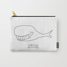 Cheshire Whale Carry-All Pouch