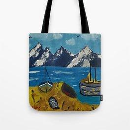 Mediterranean Village Tote Bag