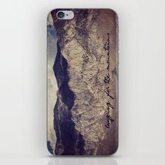 longing for the mountains iPhone & iPod Skin