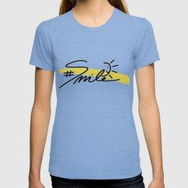 #Smile T-shirt