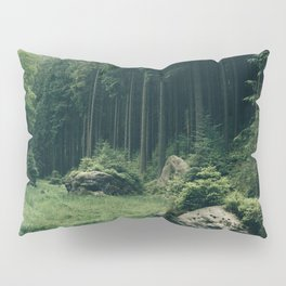 Forest Field - Landscape Photography Pillow Sham
