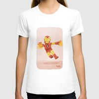 ironman T-shirts featuring Ironman by Popol