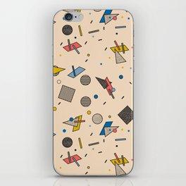 Memphis Inspired Pattern 9 iPhone Skin