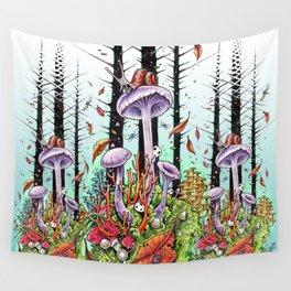 Woodland Wonderment Wall Tapestry