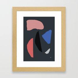 DARK PIECES Framed Art Print