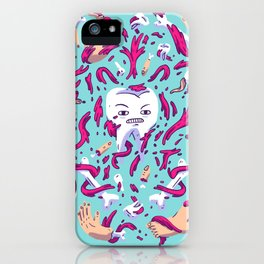 Tooth Guy iPhone Case