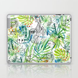 Endangered in the Rainforest Laptop & iPad Skin