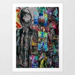 Market Art Art Print