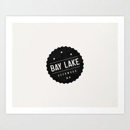 BAY LAKE Art Print