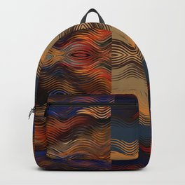 Under the Blanket of Sunset Native American Inspired Pattern Backpack
