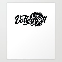 Volleyball Gift Art Print