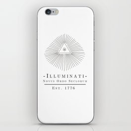 Illuminati iPhone Skin