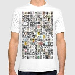 Punk Show Flyers T-shirt
