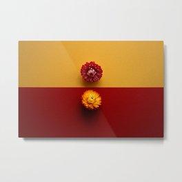 Antagonistic colors in flowers Metal Print