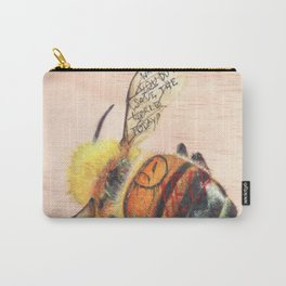 TAGGED(in color): Honey Bee Carry-All Pouch