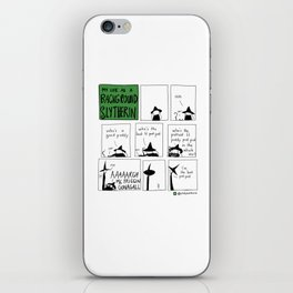 The Best Pud Pud iPhone Skin