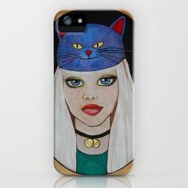 Miaw Girl iPhone Case