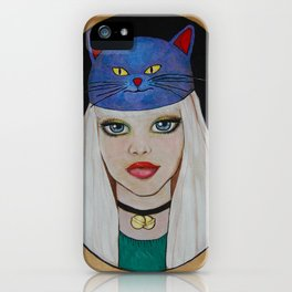 Miaw Girl iPhone Case