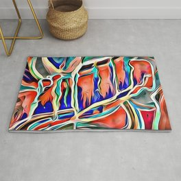 water coulor Rug