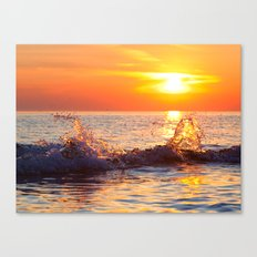 Sun Splash Canvas Print