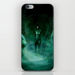 Silent Leaves Thirteen iPhone Skin