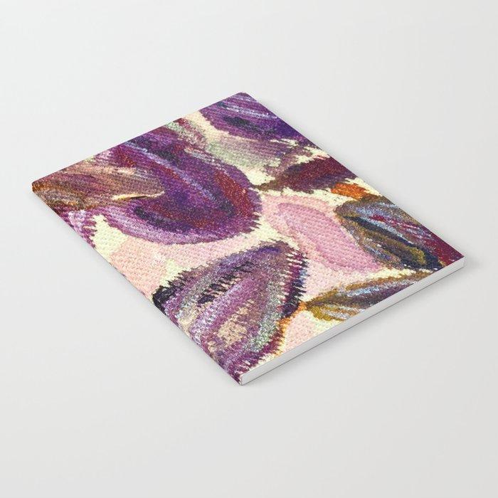 Purple Leaves Notebook