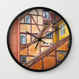 Scandinavian Architecture. Wall Clock