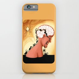 The Brain Mechanics of Repetitive Thinking iPhone Case