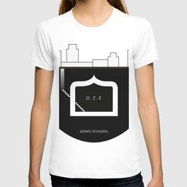 DOWN TO FAITH T-shirt