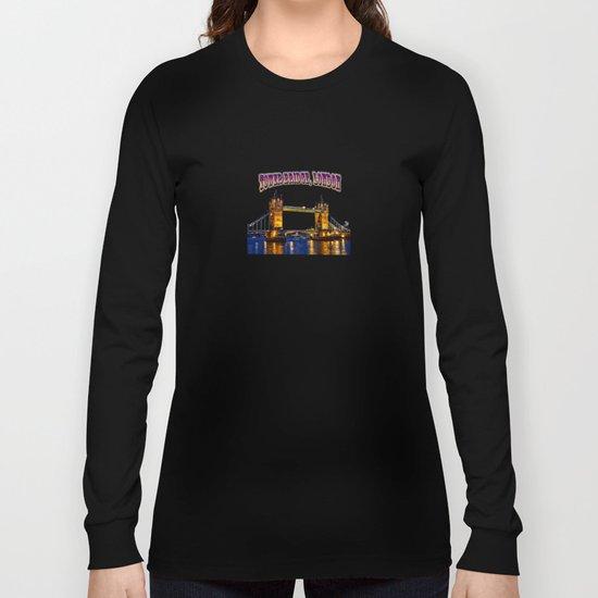 Tower Bridge , London, England, UK Long Sleeve T-shirt