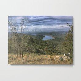 Eildon Lake Mountain View Metal Print
