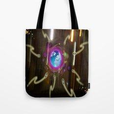 Alien  Attack Tote Bag