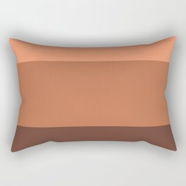 Peach Gradient Pattern Rectangular Pillow