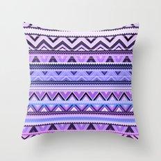 Mix #76 - Double Size - Purple Throw Pillow