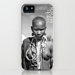 airborne tribe omo valley iPhone Case
