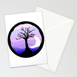 polar nights Stationery Cards