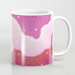 Lesbian Pride Flag Galaxy Coffee Mug