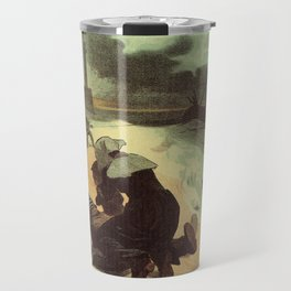 Vintage French drowned sailors charity advertising Travel Mug