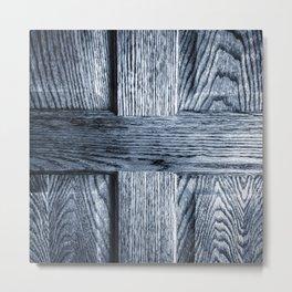 Oak Door Metal Print