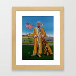 Donald Trump as African Dictator - A Trevor Noah inspiration Framed Art Print
