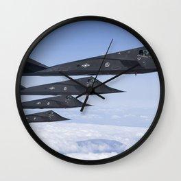 Lockheed F-117 Nighthawk Wall Clock