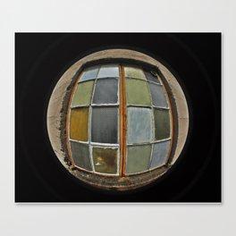 Patchwork Windowpane  Canvas Print
