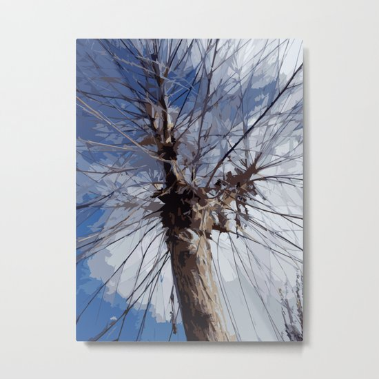Autumn Tree Metal Print