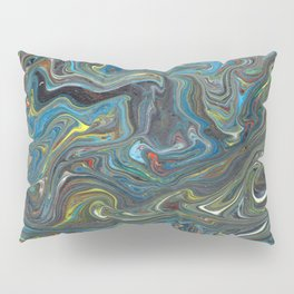 Abstract Oil Painting 18 Pillow Sham